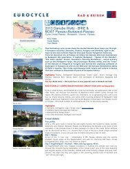 Cycle Cruise Passau - Bike Tours To Go