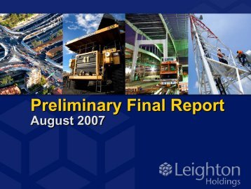 Preliminary Final Report Presentation (PDF - 1.5 MB) This external ...