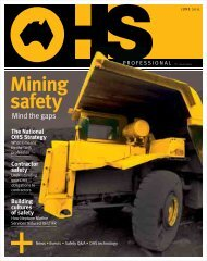 Mining safety - Safety Institute of Australia