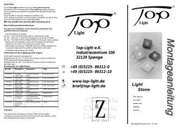 Light Stone - Top-Light