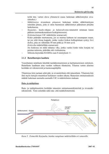 Rekisterien päivitysohje - Liikennevirasto