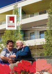 Geschäftsbericht 2010 (PDF) - Neusser Bauverein AG