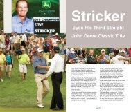 Eyes His Third Straight John Deere Classic Title