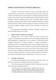 info - Universidad Católica del Uruguay