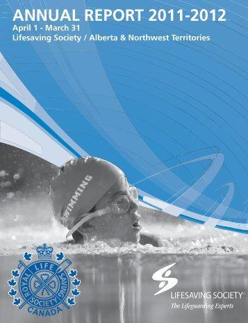 ANNUAL REPORT 2011-2012 - Lifesaving Society
