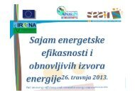 SEA-R - Sustainable Energy in the Adriatic Regions, IRENA d.o.o