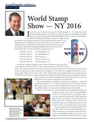 World Stamp Show — NY 2016 - American Philatelic Society