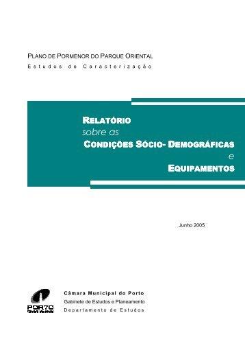 Relatório elaborado no âmbito da realização dos Estudos de ...