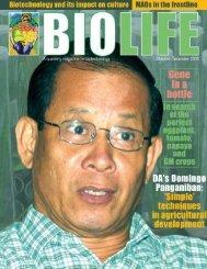 biolife 4_final.P65 - SEARCA Biotechnology Information Center