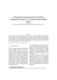 A hypoplastic macroelement for shallow foundations ... - Kivi Niria