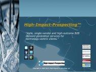 High-Impact-Prospecting - I-Newswire.com