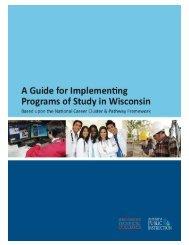 DPI Program of Study Implementation Guide - CESA #4