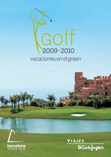vacaciones en el green - Viajes El Corte Inglés