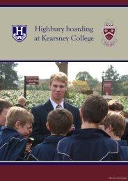 View the brochure online. - Kearsney College