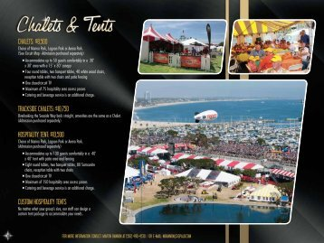 CHALETS - Toyota Grand Prix of Long Beach