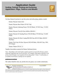 Sealing, Fairing, Priming and Surfacing Application - Hawkeye ...