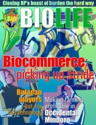 May-Jun '06 issue - SEARCA Biotechnology Information Center