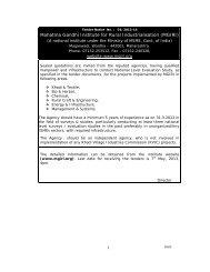 Tender no. 03/2013-14 Details - Mahatma Gandhi Institute for Rural ...