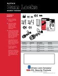 CamLocks_WeatherResistant 2011_05 16 11 - KDL Hardware Supply - Page 2
