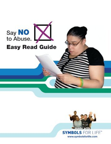 Say No To Abuse Easy Read Guide Ct