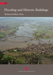 Flooding And Historic Buildings Technical Advice Note