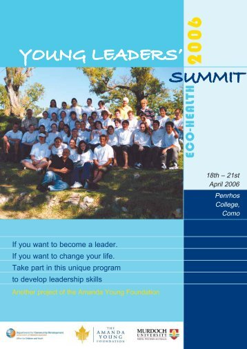 YOUNG LEADERS' SUMMIT - Amanda Young Foundation