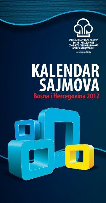 Kalendar sajmova u BiH 2010. - privredna komora brčko distrikta