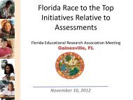 Race to the Top Assessments - FERA