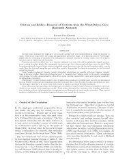 Extended Abstract - Atmospheric and Oceanic Sciences - Princeton ...