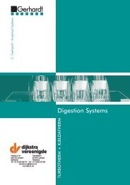 KjelDATherm Digestion system