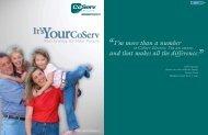 2007 Annual Report - CoServ.com