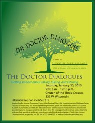 the doctor dialogues - Neurology In Translation