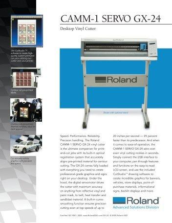 Roland camm-1 gx-24 drivers windows 7
