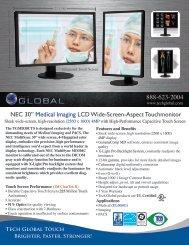 "NEC 30"" Medical Imaging LCD Wide-Screen-Aspect ... - Tech Global"