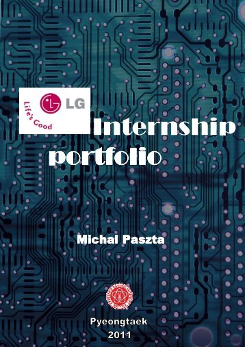 Internship portfolio
