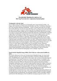 Die Top-10-Liste (PDF, 328KB) - Ärzte ohne Grenzen