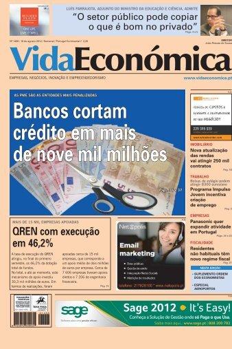 Bancos cortam crédito em mais de nove mil milhões - Vida Económica