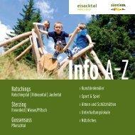 Info A-Z - Rosskopf