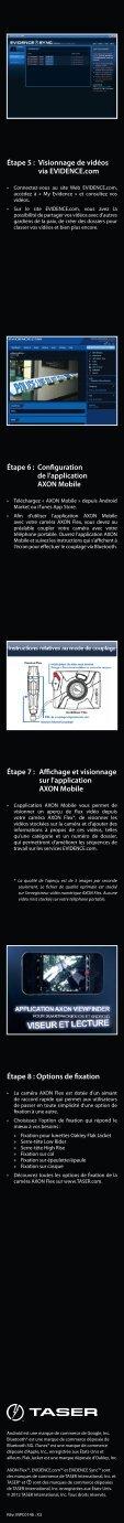 Guide de Démarrage - TASER International - Page 2