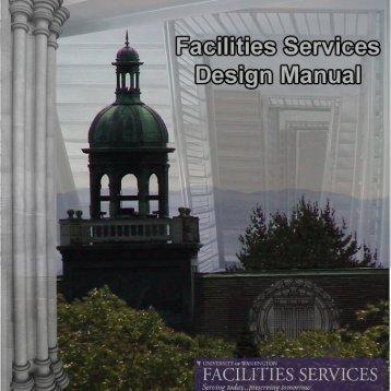 Facilities Services Design Guide - University of Washington