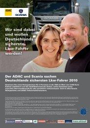 Wir sind dabei und wollen Deutschlands sicherste Lkw- Fahrer ...