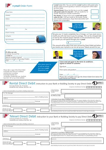 mymail Order Form - FP-IMS