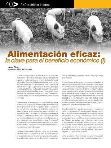 Alimentación eficaz: - Animal Nutrition