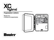 Programmatori a batteria - Hunter Industries