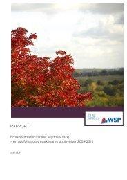 Rapport: Processerna för formellt skydd av skog - Skogsstyrelsen