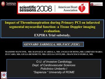 Impact of Thromboaspiration during Primary PCI on infarcted ...