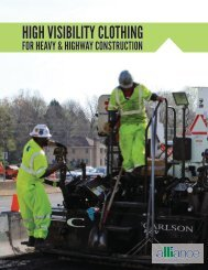 High Visibility Clothing for Heavy & Highway Construction