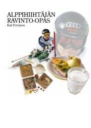 Alppihiihtäjän ravinto - Ski Sport Finland ry