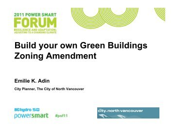 Build your own Green Buildings Zoning Amendment - BC Hydro Power ...