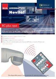Flyer RC-plus next - Swisslux AG